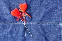 Δύο καρδιές. Στοκ Φωτογραφία