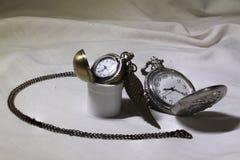 Δύο κομψά ρολόγια Στοκ εικόνες με δικαίωμα ελεύθερης χρήσης