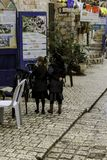 Δύο κορίτσια που ψωνίζουν στο Τιβέριο Στοκ Φωτογραφίες