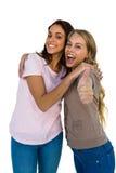 Δύο κορίτσια φυλλομετρούν επάνω Στοκ φωτογραφίες με δικαίωμα ελεύθερης χρήσης