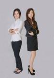 Δύο κορίτσια Στοκ Εικόνες