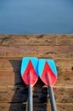 Δύο κουπιά Στοκ φωτογραφία με δικαίωμα ελεύθερης χρήσης