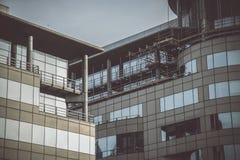 Δύο κτήρια στο Μάντσεστερ Στοκ εικόνες με δικαίωμα ελεύθερης χρήσης