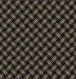 Δύο μαύρες κορδέλλες που υφαίνονται από κοινού Στοκ Εικόνες