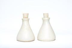 Δύο μπουκάλια Aromatheraphy Στοκ εικόνα με δικαίωμα ελεύθερης χρήσης