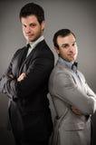 Δύο νέα επιχειρησιακά άτομα Στοκ Φωτογραφία