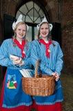 Κορίτσια τυριών που λένε το τυρί Στοκ Φωτογραφίες