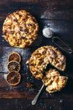 Δύο πίτες μήλων Στοκ εικόνες με δικαίωμα ελεύθερης χρήσης
