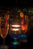 Δύο ποτήρια της εύγευστης λεμονάδας Στοκ Εικόνες