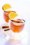 Δύο ποτήρια του τσαγιού Στοκ εικόνα με δικαίωμα ελεύθερης χρήσης