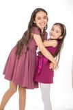 Δύο πολύ όμορφα μοντέρνα κορίτσια Στοκ εικόνα με δικαίωμα ελεύθερης χρήσης