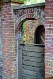 Δύο πύλες πίσω Στοκ Φωτογραφίες