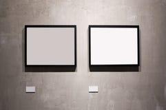 Δύο πλαίσια Στοκ Εικόνες