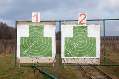 Δύο στόχοι Στοκ Εικόνα