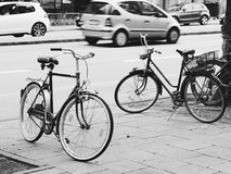 Δύο τακούνια σε δύο ρόδες Στοκ Εικόνες