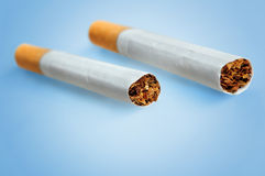 Δύο τσιγάρα Στοκ Εικόνες