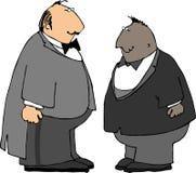 Δύο τύποι στα σμόκιν Στοκ φωτογραφία με δικαίωμα ελεύθερης χρήσης