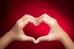 Σημάδι καρδιών Στοκ εικόνα με δικαίωμα ελεύθερης χρήσης