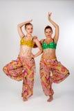 Δύο χορευτές κοιλιών Στοκ φωτογραφία με δικαίωμα ελεύθερης χρήσης
