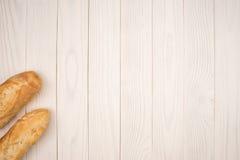 Δύο baguettes Στοκ Εικόνες