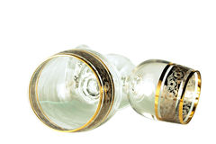 Δύο goblets κρυστάλλου Στοκ φωτογραφία με δικαίωμα ελεύθερης χρήσης