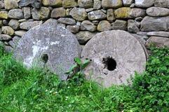 Δύο Millstones Στοκ εικόνα με δικαίωμα ελεύθερης χρήσης