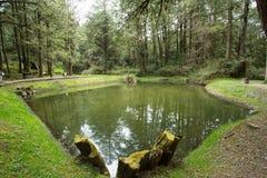 Δύο Sistes ιστορία λιμνών της αγάπης στο έθνος Alishan φυσικό σε Chia Στοκ φωτογραφία με δικαίωμα ελεύθερης χρήσης
