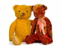 Δύο Teddy αντέχουν Στοκ Φωτογραφίες
