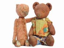 Δύο Teddy αντέχουν Στοκ εικόνα με δικαίωμα ελεύθερης χρήσης