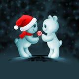 Δύο teddy αρκούδες ερωτευμένες Στοκ Εικόνα
