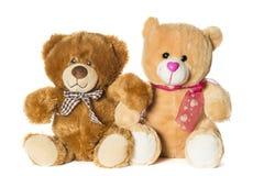 Δύο teddy αρκούδες Στοκ φωτογραφία με δικαίωμα ελεύθερης χρήσης