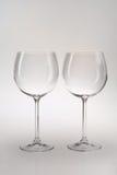 δύο wineglasses Στοκ εικόνα με δικαίωμα ελεύθερης χρήσης