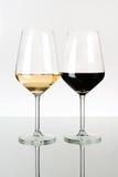 δύο wineglasses Στοκ φωτογραφία με δικαίωμα ελεύθερης χρήσης