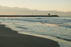 δύση του Μεξικού ακτών στοκ εικόνες