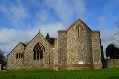 Δύση Blatchington εκκλησιών του ST Peters. Στοκ εικόνες με δικαίωμα ελεύθερης χρήσης