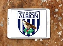 Δύση Bromwich Albion Φ Γ Λογότυπο λεσχών ποδοσφαίρου στοκ εικόνα με δικαίωμα ελεύθερης χρήσης