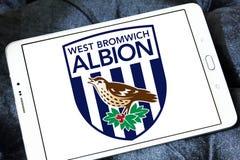Δύση Bromwich Albion Φ Γ Λογότυπο λεσχών ποδοσφαίρου στοκ εικόνα
