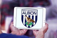 Δύση Bromwich Albion Φ Γ Λογότυπο λεσχών ποδοσφαίρου στοκ φωτογραφία με δικαίωμα ελεύθερης χρήσης