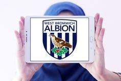 Δύση Bromwich Albion Φ Γ Λογότυπο λεσχών ποδοσφαίρου στοκ εικόνες