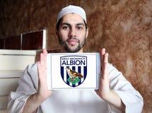Δύση Bromwich Albion Φ Γ Λογότυπο λεσχών ποδοσφαίρου στοκ φωτογραφία