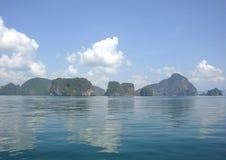 Δύσκολα νησιά της επαρχίας Krabi, Ταϊλάνδη στοκ φωτογραφίες με δικαίωμα ελεύθερης χρήσης