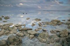 δύσκολη ακτή Στοκ εικόνα με δικαίωμα ελεύθερης χρήσης