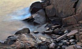 Δύσκολη ακτή Στοκ Εικόνα