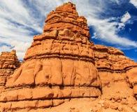 Δύσκολος σχηματισμός ερήμων στοκ εικόνα