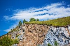 Δύσκολο Hill Altai, νότια Σιβηρία, Ρωσία στοκ εικόνα με δικαίωμα ελεύθερης χρήσης