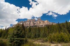 Δύσκολα βουνά, Αλμπέρτα, Καναδάς στοκ φωτογραφίες