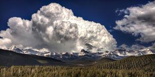 Δύσκολα βουνά κοντά σε Banff Καναδάς Στοκ Εικόνα
