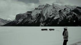 Δύσκολα βουνά σε Banff, Καναδάς Στοκ φωτογραφία με δικαίωμα ελεύθερης χρήσης