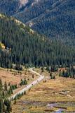 Δύσκολα βουνά του Κολοράντο - πέρασμα ανεξαρτησίας Στοκ εικόνα με δικαίωμα ελεύθερης χρήσης