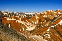 Δύσκολα βουνά στοκ εικόνες